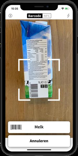 Promotie afbeelding van de Spraaklabel app