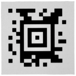 Barcode sticker (dun)